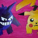 painting of pokemon by StuartBoyd