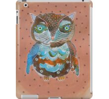 Quirky Owl 6 iPad Case/Skin