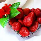 Strawberries by Rodica Nelson
