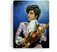 His Royal Purpleness Canvas Print