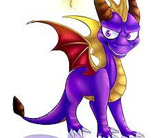 Spyro the dragon by iEmeii