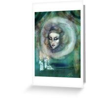Let There Be Music - Madame Leota Haunted Mansion Art Greeting Card