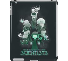League of Extraordinary Scientists iPad Case/Skin
