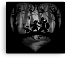 Heartless Forrest Canvas Print