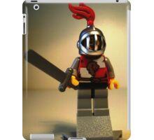 'Lion Knight Quarters' Minifig iPad Case/Skin