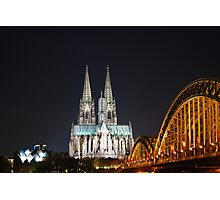 The Cathedral in Cologne Photographic Print