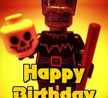 Happy Birthday Frankensteins Monster  by Chillee