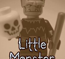 Little Monster - Frankensteins Monster Custom Minifigure 'Customize My Minifig' by Chillee