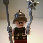Gladiator 'Cracalla the Gladiator' Custom Minifigure by Chillee