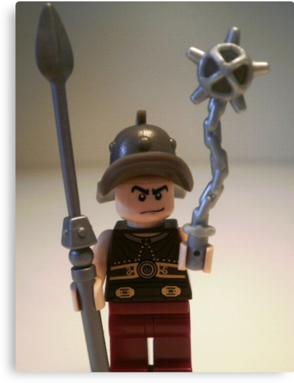 Gladiator 'Cracalla the Gladiator' Custom Minifigure by Chillee