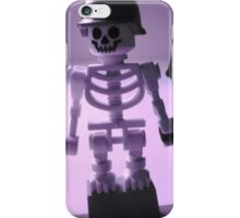 Skeleton Army Custom Minifigure Helmet & Bazooka iPhone Case/Skin
