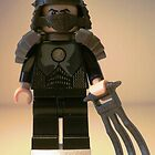 TMNT Teenage Mutant Ninja Turtles, Master Shredder Custom Minifig by Chillee