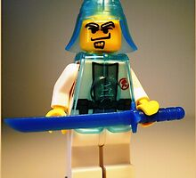 Ching Dynasty Chinese Warrior Custom Minifig by Chillee