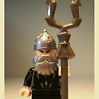 Mongolian Warrior Chief Custom Minifigure, 'Customize My Minifig' by Chillee