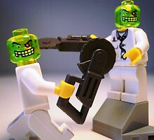 Doctor Toxic with Chainsaw, Custom Minifig by Chillee