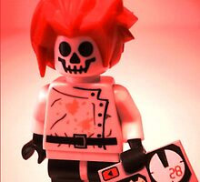 Professor Boom Custom Minifigure with Bomb by Chillee