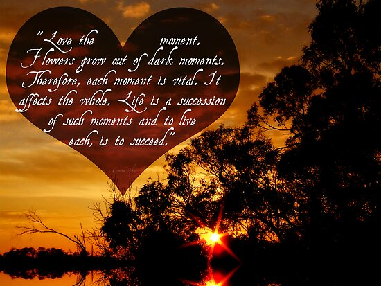 Love the moment by webgrrl