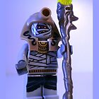 Mummy with Gold Head Gear with Custom Magical Jewelled Staff, 'Customize My Minifig' by Chillee