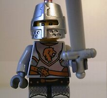 Lion Knight Armor with Lion Head and Belt by Chillee