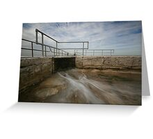 Merewether Baths 6 Greeting Card