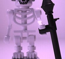 Skeleton Zombie Soldier with Custom Minifigure Helmet and baooka by Chillee