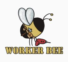 Worker bee - handyman/carpenter by Corrie Kuipers