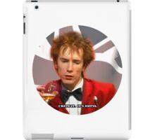 JOHNNY HATES IT iPad Case/Skin