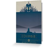 Bioshock Infinite: Columbia  Greeting Card