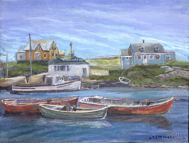 Peggy's Cove, Nova Scotia by artattic
