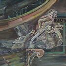Figurehead on pirate ship from the West Edmonton Mall by artattic
