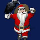 Santa Claus Loves Ravens by Mythos57