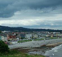 Bray Seafront from Bray Head by David McAuley