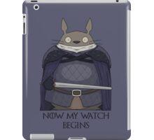 Totoro Night's Watch iPad Case/Skin