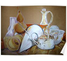 Still Life Mixed Media Poster