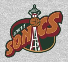Seattle Supersonics Kids Clothes