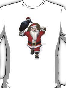 Santa Claus Loves Ravens T-Shirt