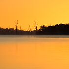 Lake Mulwala Sunrise by Michael Eyssens