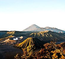 Volcano by mentari