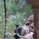 Blowing Bubbles by Coralie Pittman