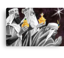 ♚ ☆ Gaspar, Melchior, and Balthasar,The Three Wise Men ☆♚by (no text) Canvas Print