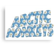 Arctic Monkeys Logo Canvas Print