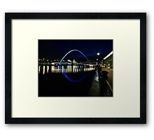 The Gateshead Eye Framed Print