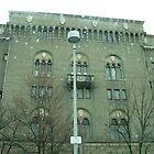 building in pontiac, MI. by draznick