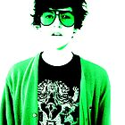 tom portrait green by pixiella