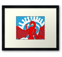 Signed & Limited Edition: Annoth the Warrior Dragon Framed Print