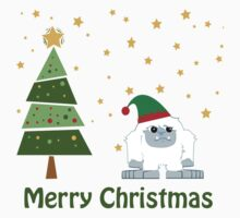 Merry Christmas Yeti Kids Clothes