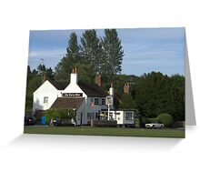 The Barley Mow Greeting Card