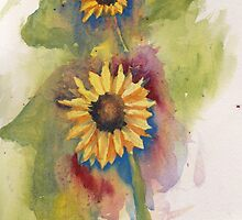 ANOTHER SUNFLOWER by artsybob