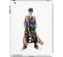 Tenth Doctor iPad Case/Skin
