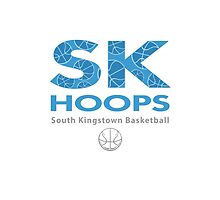SK Hoops - Fan Gear Light Blue by Graham Williams